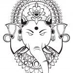 Ganesha vector — Stock Vector #13634183