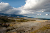 Wild landscape on Kamchatka — Stock Photo