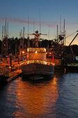 Barco de natal — Foto Stock