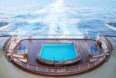 Кормовая плавательный — Стоковое фото