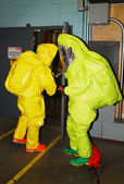 Haz Mat Entry — Stock Photo