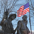 Stock Photo: Vietnam Veterans Memorial