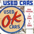 Stock Photo: OK Used Cars Sign