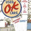 OK Used Cars Sign — Stock Photo #16210489