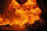Tanker Fire — Stock Photo