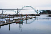 Yaquina Bay — Stock Photo