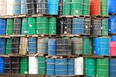 Barrel Stacks — Stock Photo