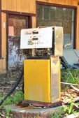 Starý plyn — Stock fotografie