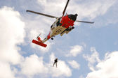 Guard Helicopter — Stock Photo