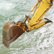 Water Trackhoe — Stock Photo #22021117