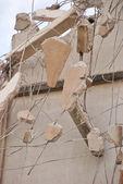 Breaking Wall — Foto de Stock