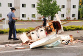 Plane Crash — Stock Photo