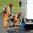 Stock Photo: Haz Mat Entry
