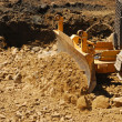 Stock Photo: Small Dozer
