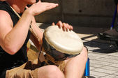 Drum Circle — Stock Photo