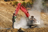 Rock Drill — Stock Photo