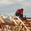 Stock Photo: Rafter Layout