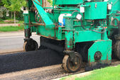 Asphalt Spreader — Stock Photo