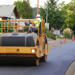 Asphalt Roller — Stock Photo