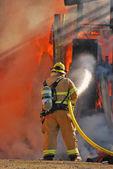 Fire Attack — Stock Photo