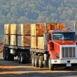 Stock Photo: Lumber Truck