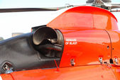 Helicopter Detail — Stock Photo