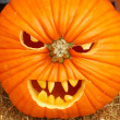 Scary Pumpkins — Stock Photo #28837973