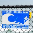 Tsunami Hazard — Stock Photo