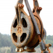 Rusted Pulley — Stock Photo #30605693