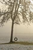 Snow Swing — Foto de Stock