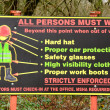 Stock Photo: Safety Sign