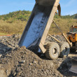 Stock Photo: Dumping Rock
