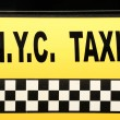 NYC Taxi — Stock Photo