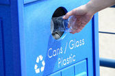 Kunststof recycle — Stockfoto