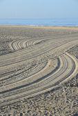 Groomed Sand — Stock Photo