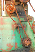 Chain and Gears — Stock Photo