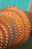 Chain Sprockets — Stock Photo