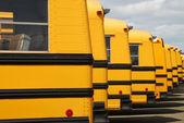 Bus van de school — Stockfoto