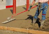 Concrete Pad — Stock Photo