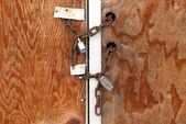 Porta chiusa — Foto Stock