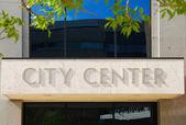 Stadtzentrum — Stockfoto