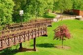 Park bron — Stockfoto