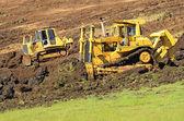 Bulldozer Hill — Stock Photo