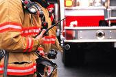 Fire Command — Stock Photo