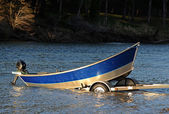 Drift Boat — Stock Photo