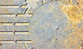 古い汚れた金属の背景. — Stockfoto