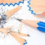 Pencil sharpener isolated on white background. — Stock Photo