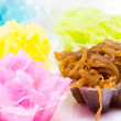 Stock Photo: Colorful Thai tradition dessert.