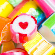 Close up colorful candies. — Stock Photo