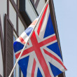 British Union Jack flag. — Stock fotografie